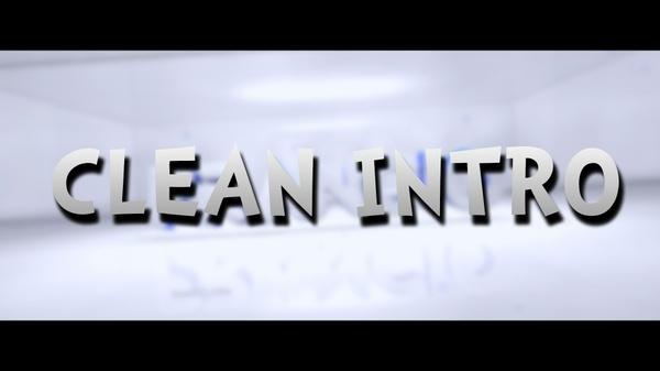 INTRO CLEAN / 1080p60fps | -20%!