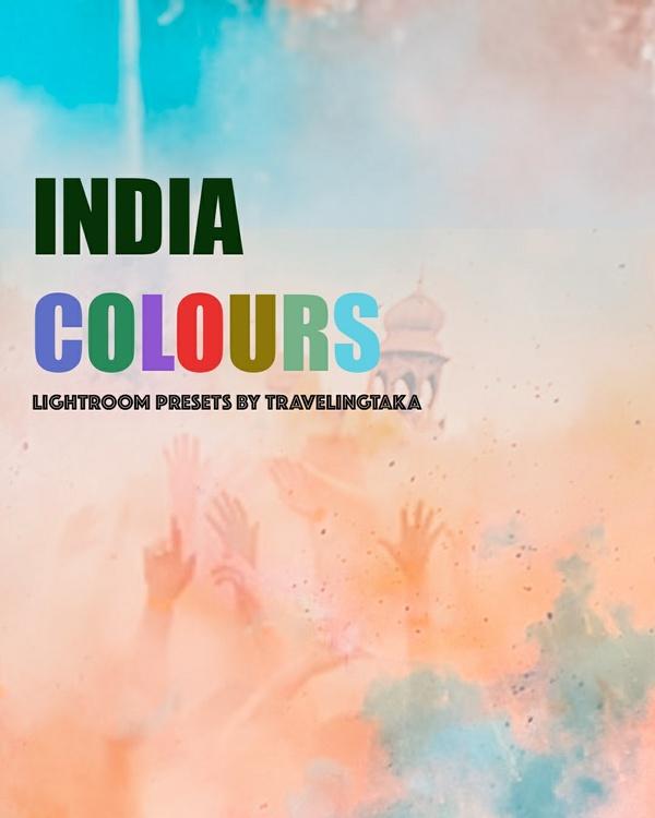 INDIA COLOURS – 10X Lightroom Presets