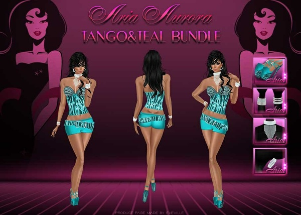 Tango&Teal Bundle 6Peaces//Resell Right!!