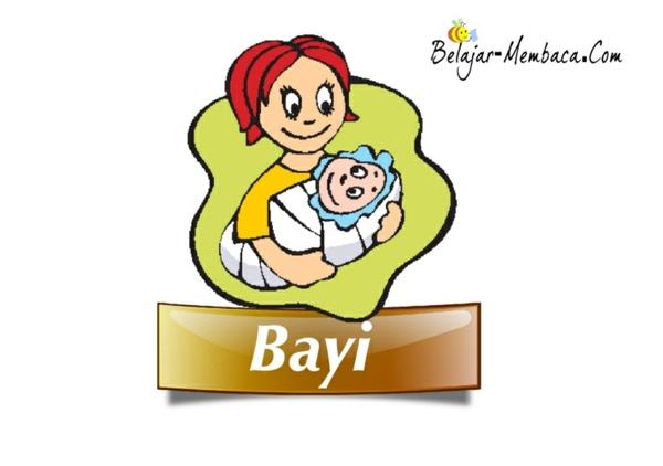 Bayi (Buku Bacaan untuk Pembaca Pemula)