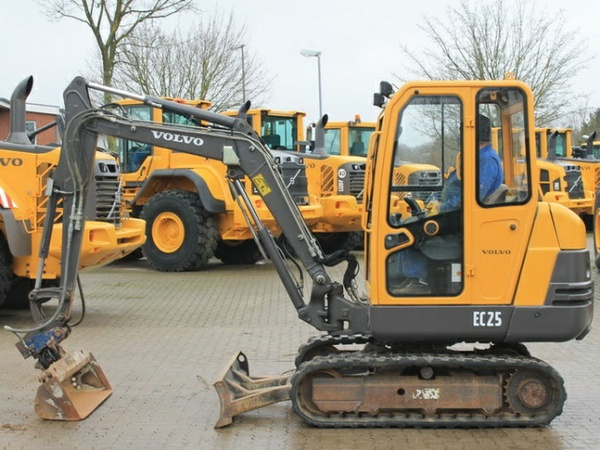 VOLVO EC25 COMPACT EXCAVATOR SERVICE REPAIR MANUAL - DOWNLOAD