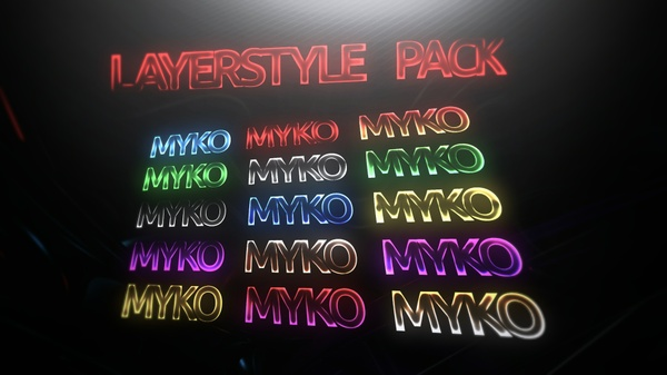 LAYERSTYLE Pack 2 | by Myko
