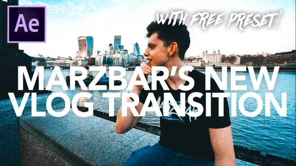 MARBAR'S NEW VLOG TRANSITION PRESET (Liquify Effect)