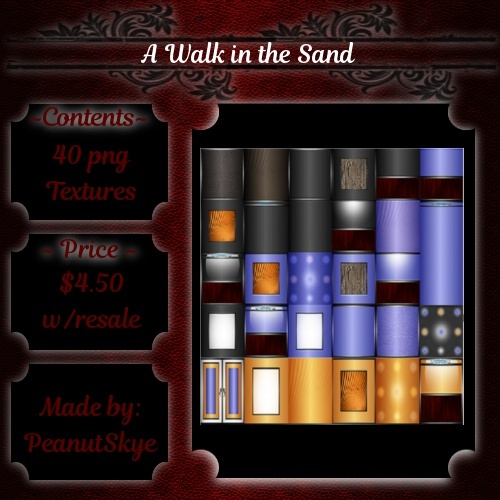 Room Textures --- A Walk in the Sand (WITH RESALE)