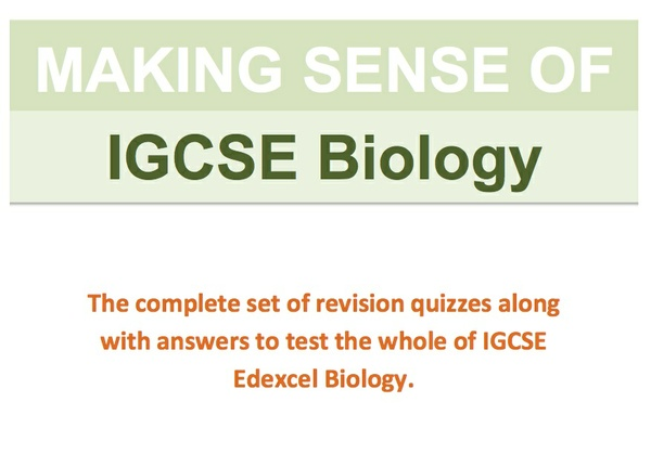 Complete IGCSE Biology Revision Quiz Bundle