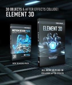 Element 3D enhanced render settings