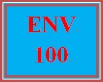 ENV 100 Week 1 Balancing Ecosystems