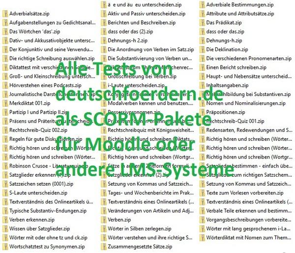 alle Tests von www.deutschfoerdern.de als SCORM-Paketdateien