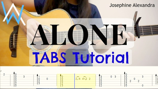 (Alan Walker) Alone - Fingerstyle Guitar TABS [PDF]