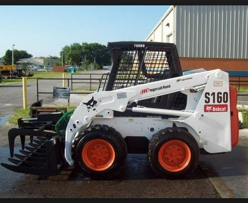 Bobcat S150, S160 Skid - Steer Loader Service Repair Workshop Manual DOWNLOAD