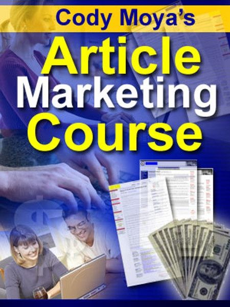 Article Marketing Course PDF eBook-Including Master Resell Rights