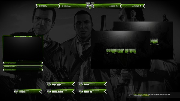 GTA V Twitch Stream Package