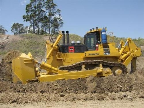KOMATSU D475A-3 BULLDOZER SHOP MANUAL + FIELD ASSEMBLY MANUAL + OPERATION & MAINTENANCE MANUAL
