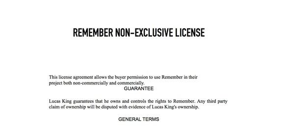 Sad Piano - Remember License