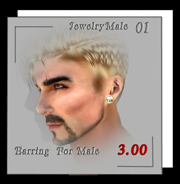 EARRING  MALE 01