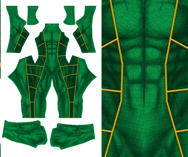 GREEN RANGER V2 pattern file