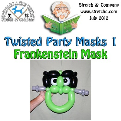 Frankenstein Mask from Twisted Party Masks 1  by Stretch the Balloon Dude