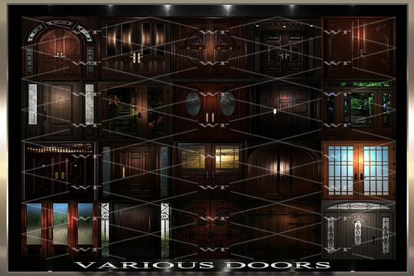 ~ VARIOUS DOORS IMVU TEXTURE PACK ~