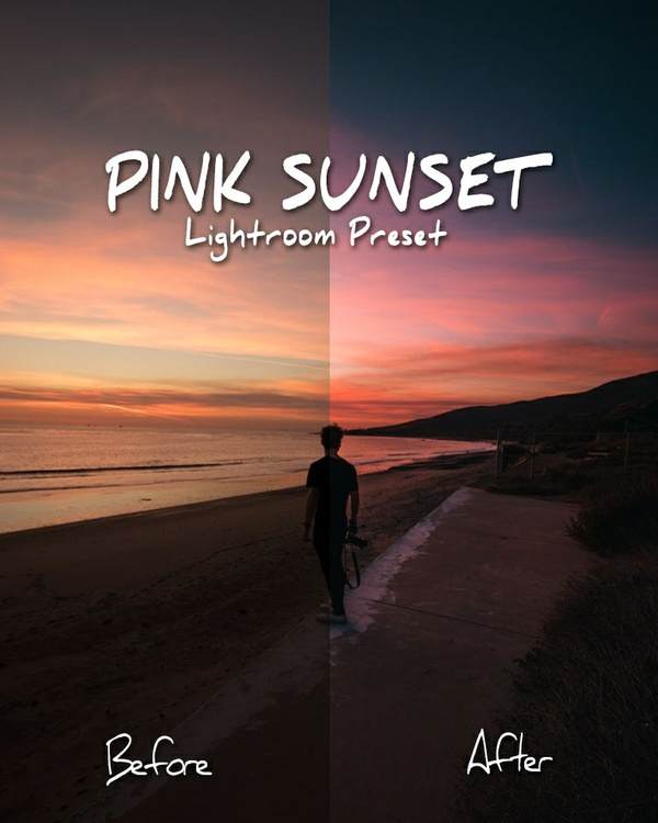 Pink Sunset Preset Pack - @ruusstty