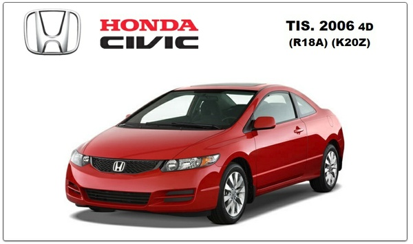 Honda Civic 2006 TIS WORKSHOP MANUAL