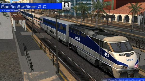 Pacific Surfliner 2.0 Beta
