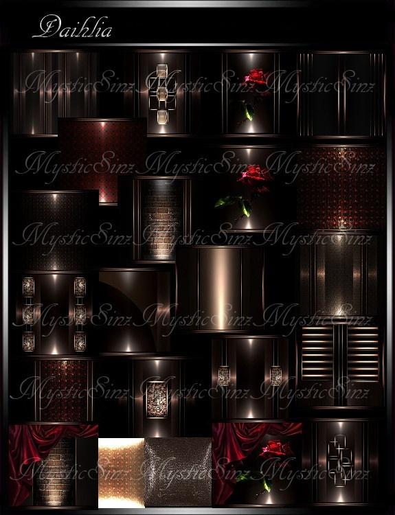 IMVU Textures Daihlia Room Collection