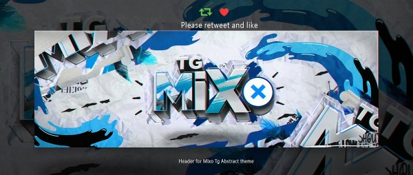 Header for Mixo   Psd Template