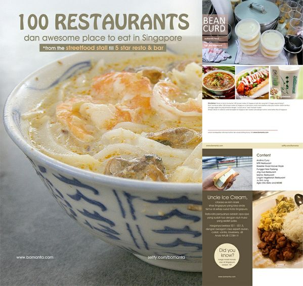 100 Restaurants and Awesome Place to Eat in Singapore
