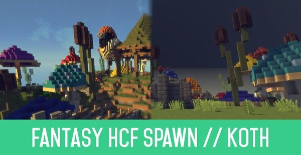 Fantasy HCF Spawn // KoTH