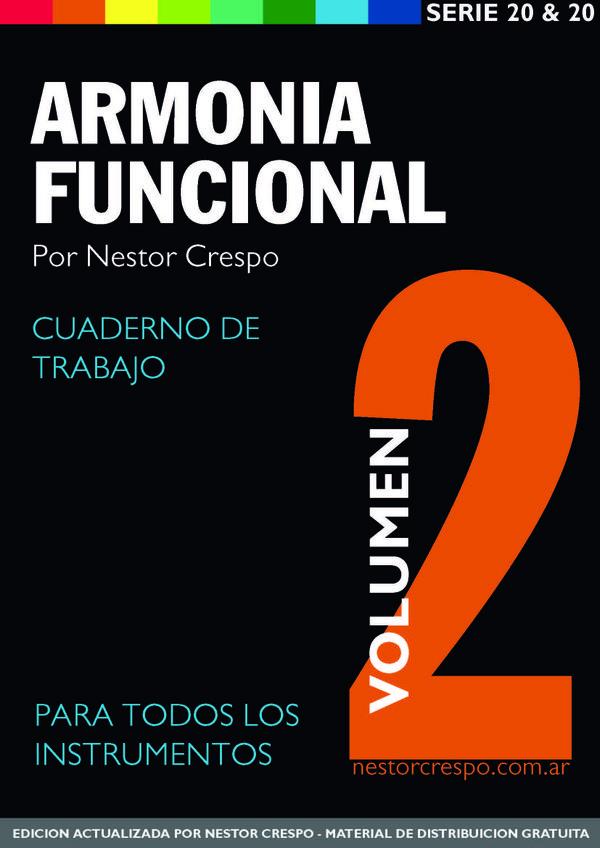 TEORÍA / GRATIS - DONACIÓN  -  Libro de Armonía Funcional 2