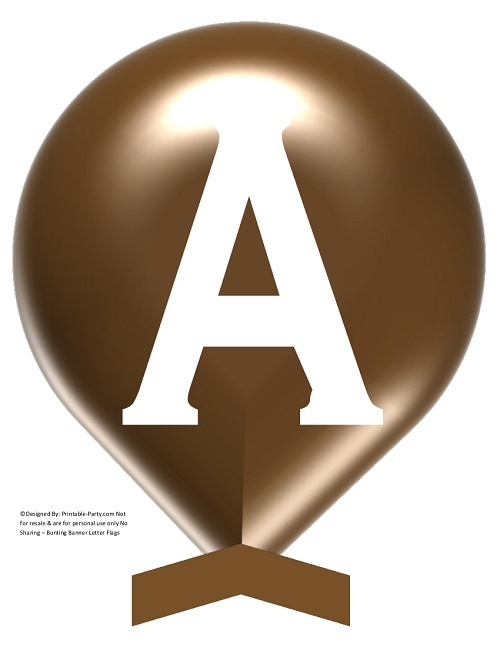 LARGE-BROWN-WHITE-BALLOON-PRINTABLE-BANNER-LETTERS-A-Z-0-9