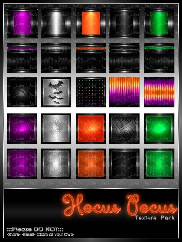 Hocus Pocus Texture Pack-- $13.00