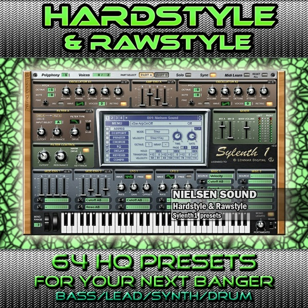 Hardstyle & Rawstyle for sylenth1