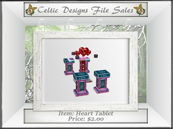 CD Heart Tablet