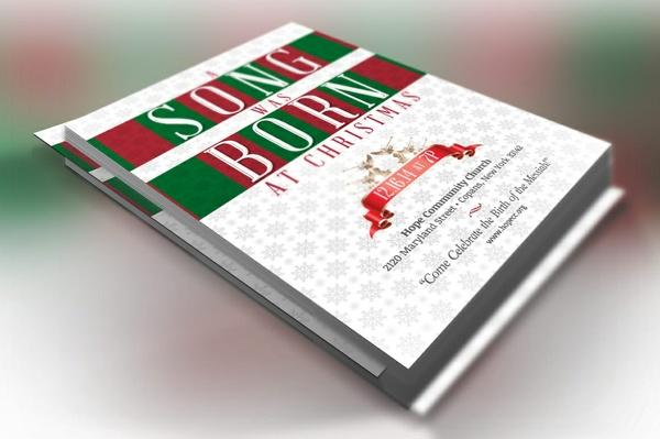 Christmas Musical Flyer Template