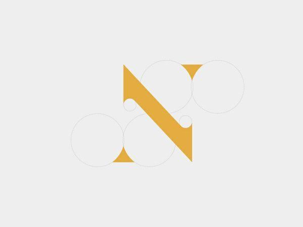 Vintage 'N' Logo
