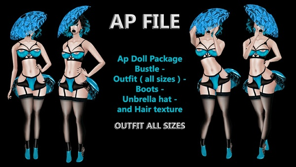 AP DOLL PACKAGE - LIMITED TO 6 PEOPLE ONLY