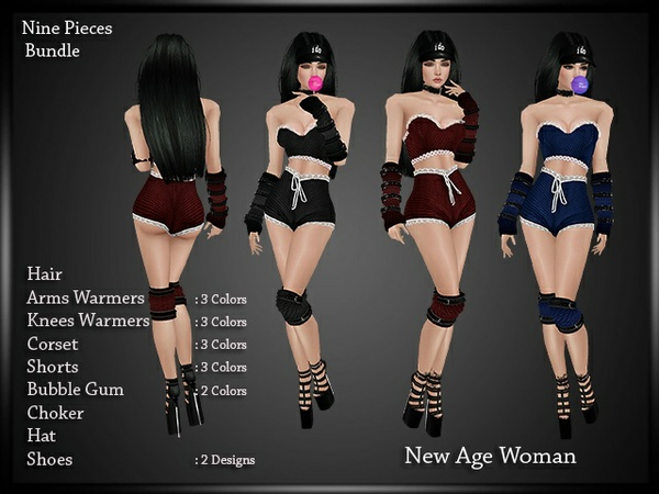 New Age Woman