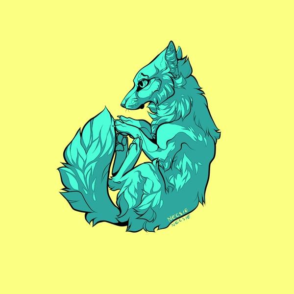Foxu Line Art