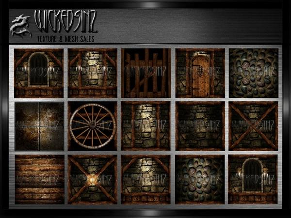 Old Tavern - 25 Textures - $7.50