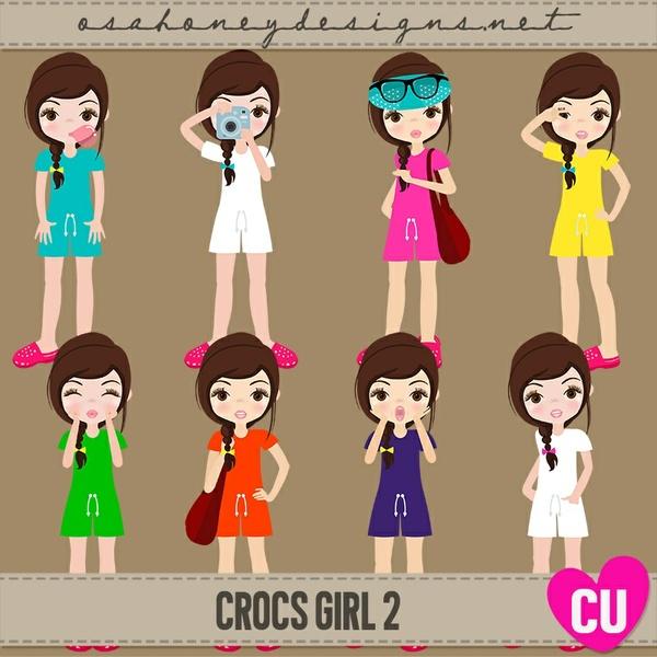 Crocs Girl 2