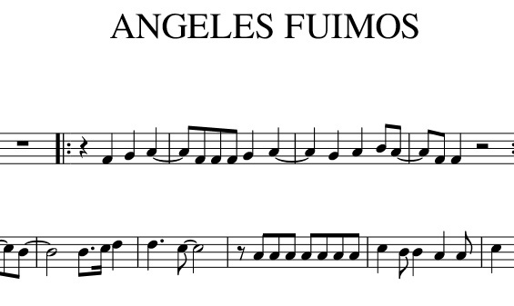 Dragon Ball - Angeles fuimos (Violín)