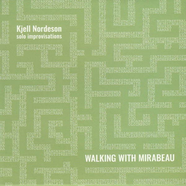 MW951 Walking with Mirabeau by Kjell Nordeson
