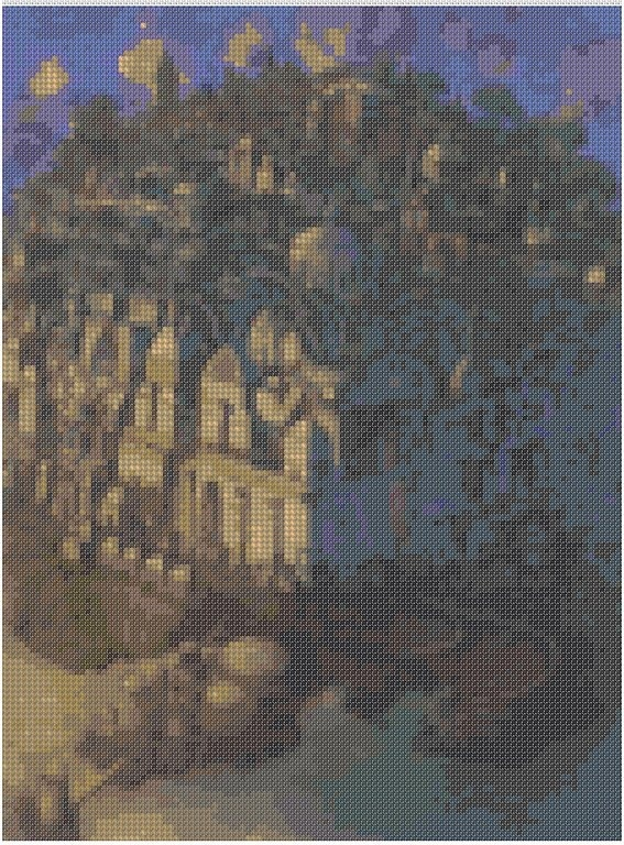 cross stitch pattern Mar-004c