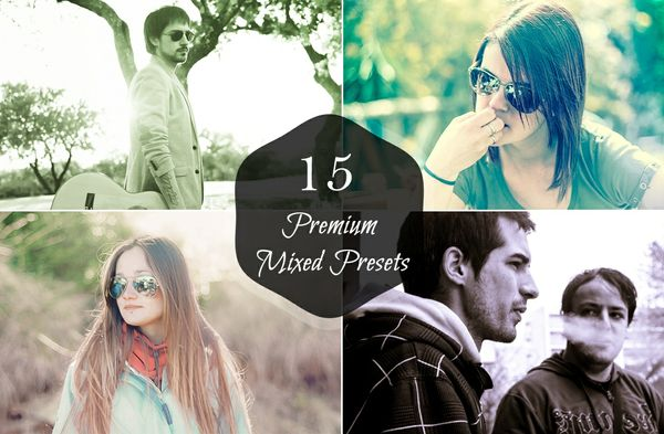 15 Premium Mixed Lightroom Presets
