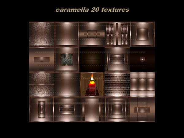 CARAMELLA 20 textures