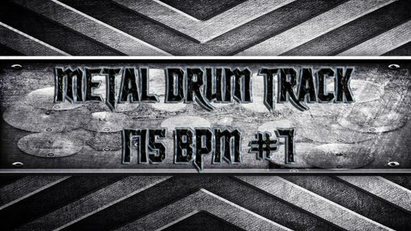 Metal Drum Track 175 BPM #7