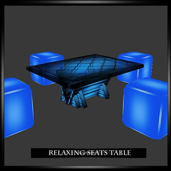 Relaxing Seats Table