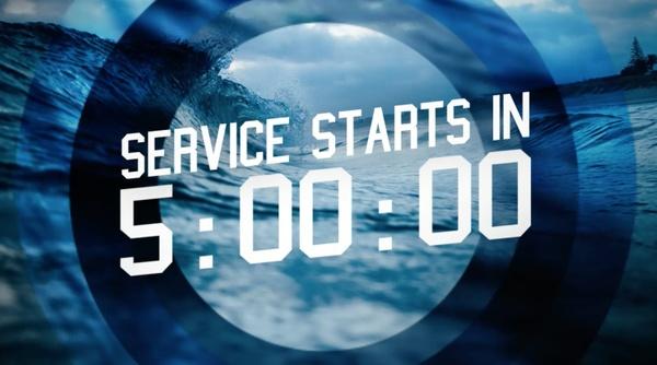 Oceans Theme 5 Minute Countdown