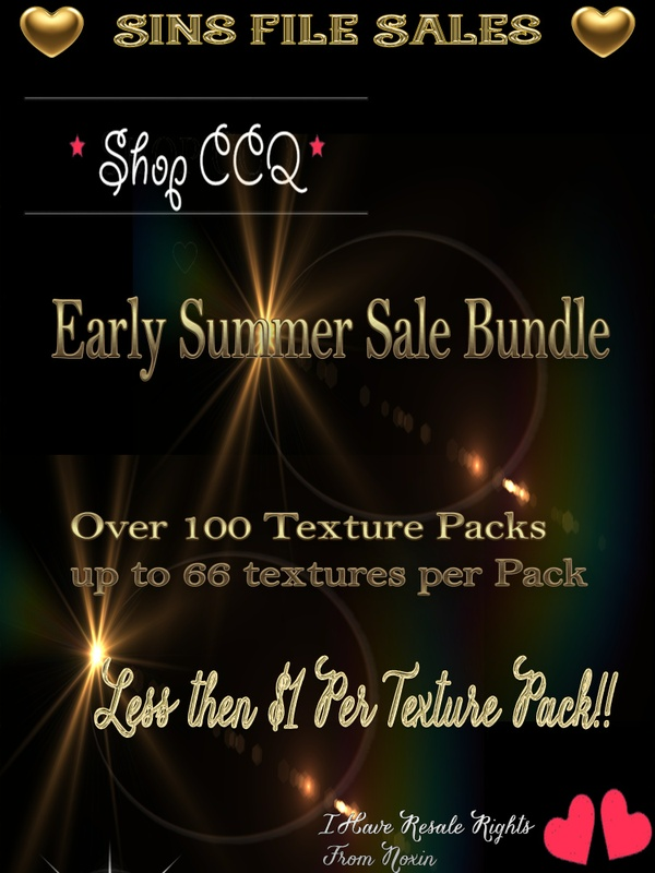 ♥Early Summer Sale♥ Over 100 Texture Packs